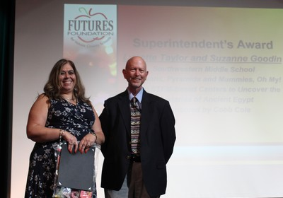 FUTURES Foundation Announces Superintendent's Most Creative Mini-Grant Award Recipient