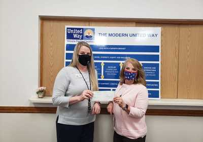 UNITED WAY PROVIDES ACADEMIC SUPPORT THROUGH TECHNOLOGY DEVICES