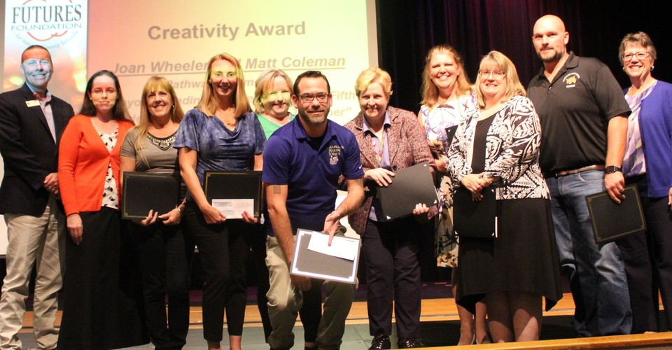 Creative Mini-Grant Award recipients