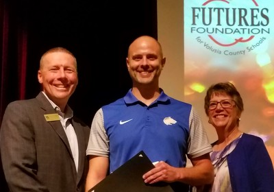 FUTURES Names Keith Wallace as this year's Superintendent's Mini-Grant Creativity Award recipient