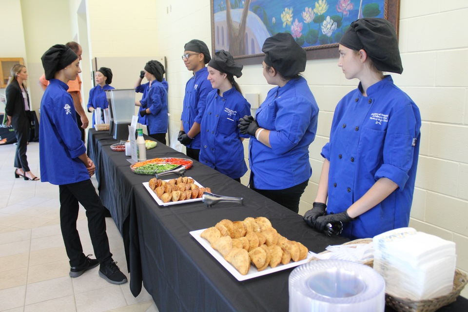 Thank you Mainland Culinary Academy for catering our delicious refreshments