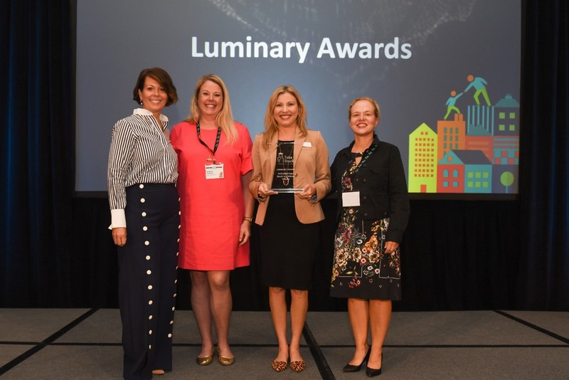 Volusia TSIC receives Luminary Award