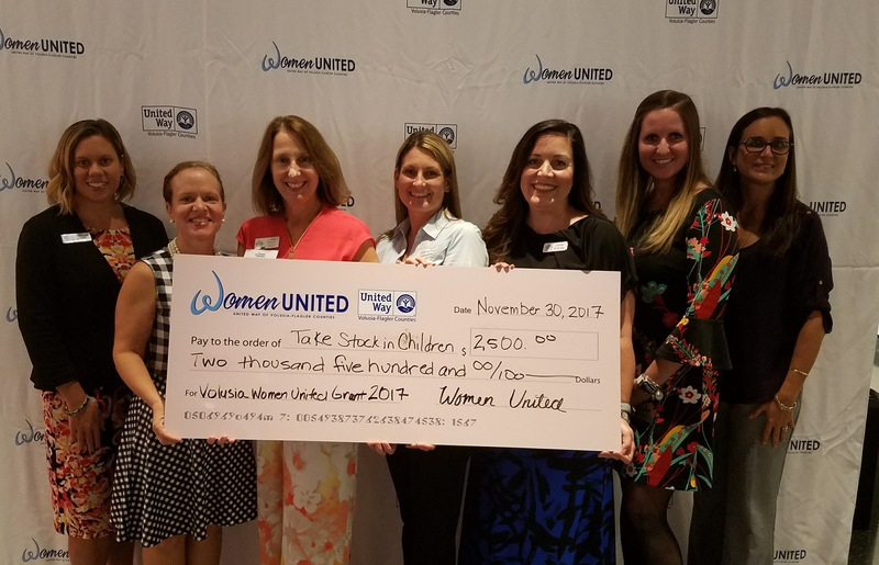 Women United donates $2,500 to Take Stock in Children Program