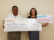 Launch Federal Credit Union donates $2,000 to FUTURES Foundation
